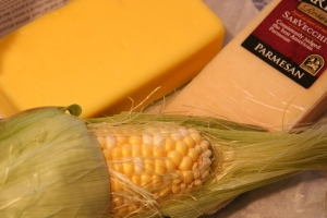 grass-fed butter is as yellow as corn, rich with carotenoids from plants